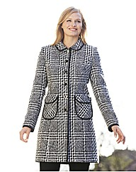 Piping Detail Coat