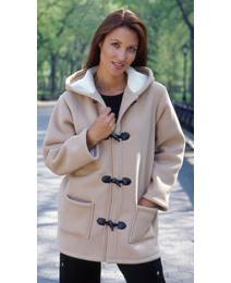 Sherpa Fleece Duffle Jacket