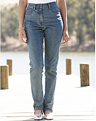 Petite Stretch Jeans Length 25in