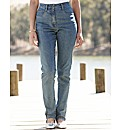 Stretch Bootcut Jeans Length 32in