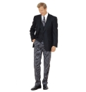 Brook Taverner Classic Suit Trousers - L