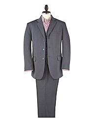 Premier Man Smart Rib 3 Piece Suit