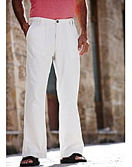 Southbay Linen Mix Trousers 31in