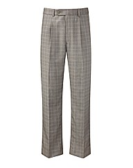 Premier Man Check Trousers 31in