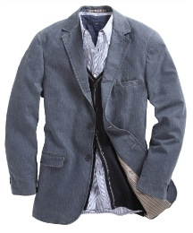 Drifter Single Breasted Jacket - Long