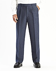 Premier Man Zip & Clip Trousers 29in