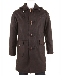 Woodland Leather Duffle Coat