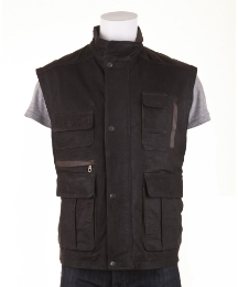 Woodland Leather Gilet