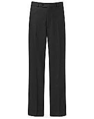 Premier Man Plain Front Trousers 29in