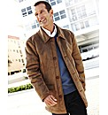 Premier Man Mock Sheepskin 3/4 Coat
