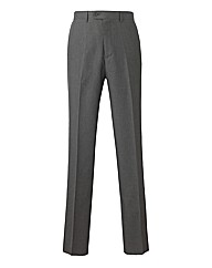 PremierMan Unhemmed Plain Front Trousers