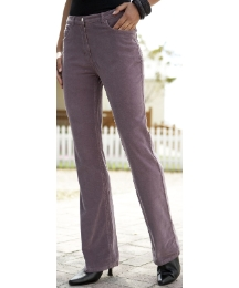 Boot Cut Cord Jeans Length 28in