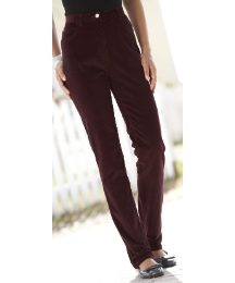 Straight Leg Cord Jeans Length 29in