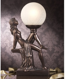 Seated Lady Lamp