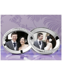 Stone Set Wedding Rings Frame