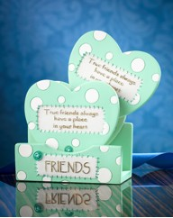 Dotty Heart Coasters
