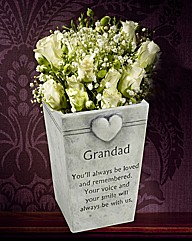 Grandad Memorial Flower Pot