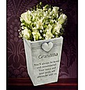 Grandma Memorial Flower Pot