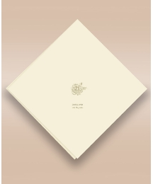 Delicate Rose 50 Wedding Serviettes