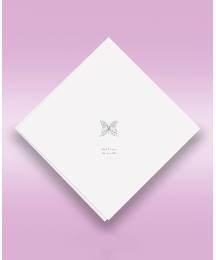 Butterfly 50 Wedding Serviettes
