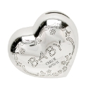 Personalised Silver Plated Moneybank