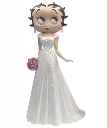 Bridal Betty Boop Figurine