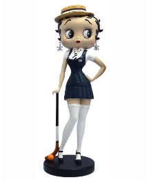 Betty Boop Hockey Figurine