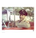 Collectors Elvis Print - Army 1950s