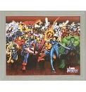 Marvel Heroes Montage Framed Print