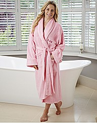 Personalised Ladies Towelling Robe
