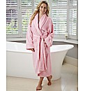 Personalised Ladies Towelling Robe