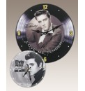 Elvis Presley Wall Clock With Free Clock