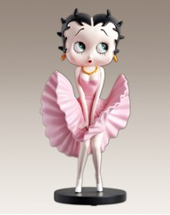 Pink Marilyn Betty Boop Figurine