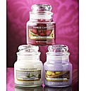 Yankee Candle Set Of 3 Scented Jars