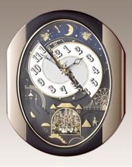 Rhythm Magic Motion Clock