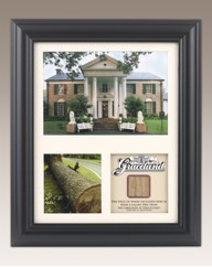 Limited Edition Framed Gracelands Timber