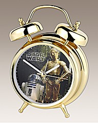 Star Wars Twin Bell Alarm Clock