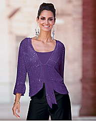 Together Beaded Jacket 21in