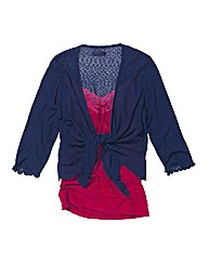 Joe Browns Crepe Tie Shrug Cardigan