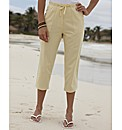 Cotton Crop Trousers Length 19in