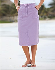 Cotton Skirt Length 25in