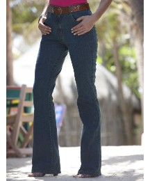 Stretch Bootcut Jeans Length 26in