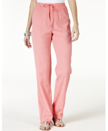Crinkle Trousers Length 25in