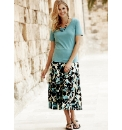 Skirt With T-Shirt & Necklace Length32in