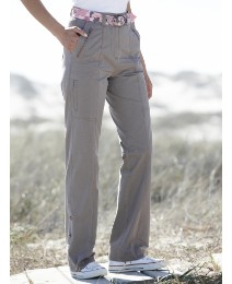 Cargo Trousers With Belt Length 28in