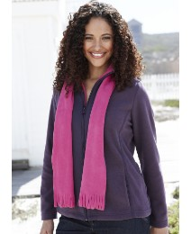 Alice Collins Fleece Jacket With Scarf