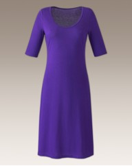 Plain Jersey Dress Length 45in