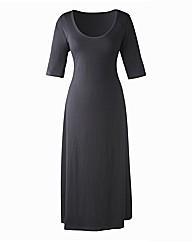 Plain Jersey Dress Length 45in
