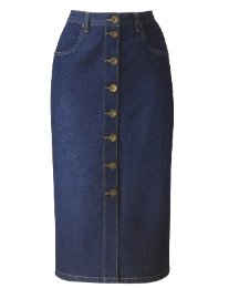 Denim Skirt Length 27in