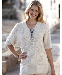 Tunic Jumper With Short Sleeves